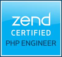 Preuve de certification « Zend Certified PHP Engineer »