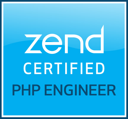 Preuve de certification « Zend Certified PHP Engineer »